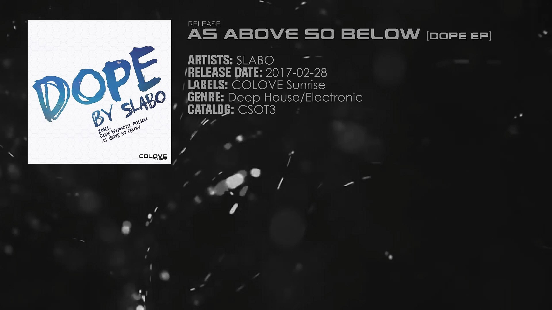 Slabo As Above So Below Original Mix Video Dailymotion