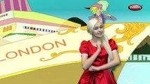 Мамочка уехала в Лондон стишок с действиями стишки | детские для малышей | песни для детей