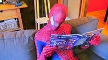 Человек-паук и замороженные elsa против Джокера и синий Кот! ж/ Человек-паук Малефисента плохой ребенок Халк! Супер