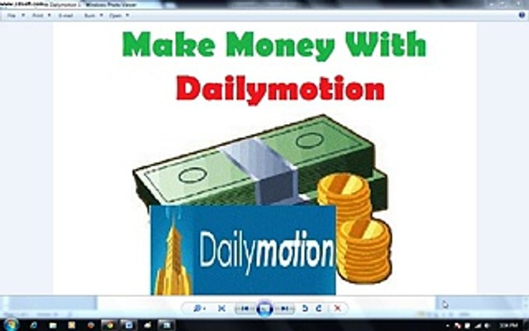 How to Make Money with Dailymotion - Video Dailymotion-Dailymotion