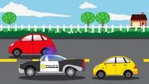 Видео для детей: полицейская машина | мультики для детей | ABC песня | колеса на автобусе | детей