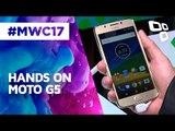 Hands On: Moto G5 - MWC 2017 - TecMundo