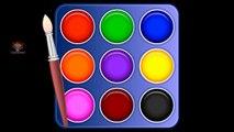 Learn Colors with Color Palette, Color Songs, Teach Colours, Preschool Kids Colors Nursery Rhymes