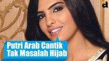 Kontroversi  Ameerah Putri Arab Cantik Tampil Tanpa Hijab