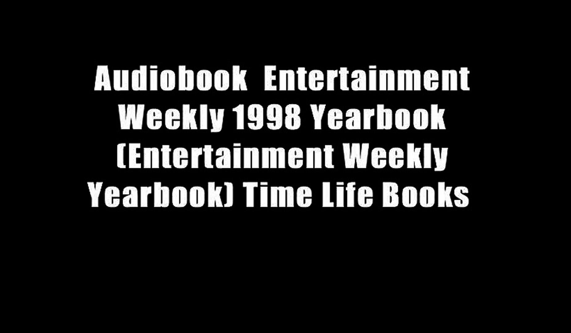 Audiobook  Entertainment Weekly 1998 Yearbook (Entertainment Weekly Yearbook) Time Life Books