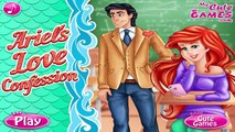 Ariels Love Confession: Ariel Confesses To Eric That She Loves Him! Ariels Love Confessi