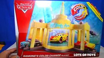 DISNEY CARS COLOR CHANGERS - RAMONES HOUSE OF BODY ART LIGHTNING MCQUEEN MATER RAMONE