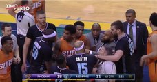 Vince Carter Elbows Devin Booker, Gets Ejected