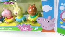 Peppa Pig Toys · Peppa and Friends · Bath Figures Playset · IMC Toys by GPB