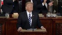 L'hommage de Trump à un soldat mort, moment fort de son discours au Congrès