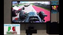 F1 2016 Round 18 - GP United States (Austin) - Jenson Button amazing opening lap