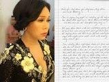 Việt Hương viết thư tay xin lỗi, tự phạt bản thân vì diễn hài thô tục - Tin tức 24h
