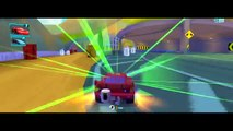 CARS: FAST AS LIGHTNING - Lightning McQueen VS Francesco Bernoulli | Disney Pixar Cars