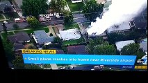 Etats-Unis : trois morts, deux blessés et beaucoup de dégâts, dans le crash d'un avion sur des habitations