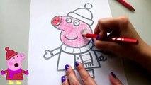 Las paperas Пеппа juega en el equipo de la Nueva serie en el canal de la Pequeña Peppa Pig