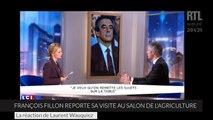 François Fillon reporte sa visite au salon de l'agriculture : ils l'apprennent en direct