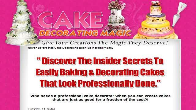Cake Decorating Magic