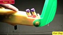 Buzz Bee Gunsmoke vs Buzz Bee Double Shot Toys For Kids - Toys TV Fun Day