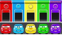 Aprender Mcqueen Colores para los Niños | los Coches de Disney Juguetes en los Huevos Sorpresa | Colores Aprendizaje f