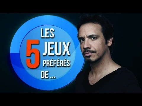 LES 5 JEUX PRÉFÉRÉS D'ALEXANDRE ASTIER !