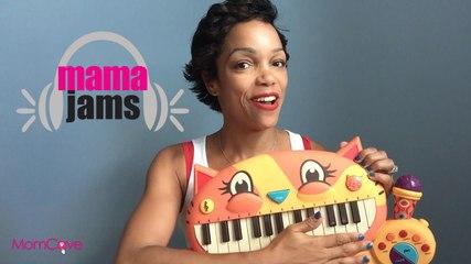 Mama Jams | Stray Cat Strut | The Stray Cats | Family Music Video | MomCave