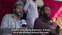 Blasts, gunfire rock Afghan capital in twin suicide attacks