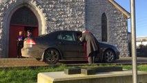 Irish church offers drive-through Ash Wednesday service