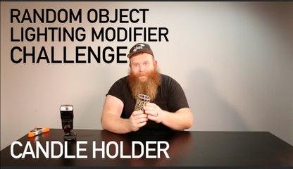 Random Object Lighting Modifier Challenge: The Candle Holder