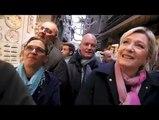 Marine Le Pen  Marine Le Pen  discours le 27 février 2017 au Mont-Saint-Michel