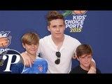 Brooklyn Beckham, Romeo et Cruz : Trio stylé aux côtés des stars du sport US