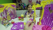 HUGE DISNEY PRINCESS PLAYDOH KINDER SURPRISE EGGS Princess Aurora Baby Doll Toys