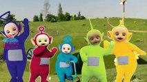 Spanish TELETUBBIES Finger Family Cartoon Animation Nursery Rhyme