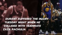 Kevin Durant suffers sprained MCL