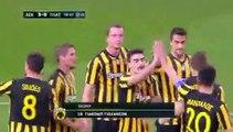 ΑΕΚ ΓΚΟΛ ΓΙΟΧΑΝΣΟΝ - ΑΕΚ 3-0 ΠΛΑΤΑΝΙΑΣ 01.03.2017
