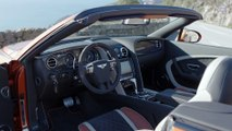 Bentley Continental Supersports Convertible Interior Design in Orange Flame