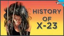 History Of X-23!