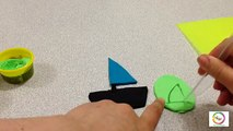 Play Doh Videos For Kids Easy Ship Making Tutorial