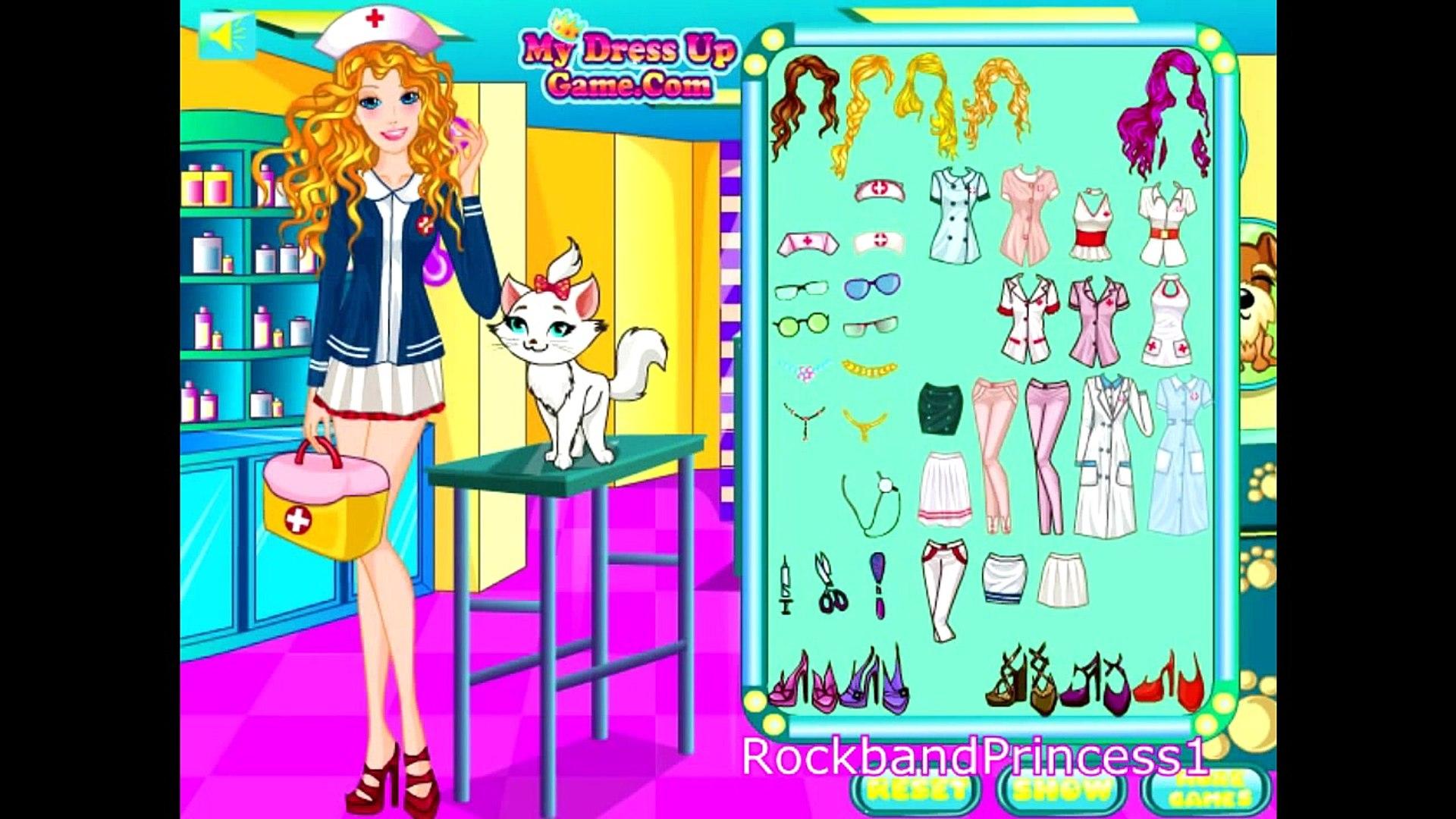Barbie Doctor Pet Game Barbie Pet Games Barbie Pet Vet Games