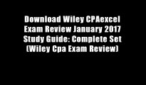 Download Wiley CPAexcel Exam Review January 2017 Study Guide: Complete Set (Wiley Cpa Exam Review)