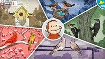 Смотреть # любопытный Джордж Мультфильмы # видео игры птичий мозг очень хорошая серия для детей