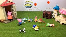 Peppa Pig Play-Doh Stop-Motion: Tidying Up and Cleaning The Mess With Crying George - hot