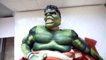Hulk BREAKS Spiderman's Superman's PHONE! w_ Frozen Elsa Joker Gumball Mach