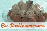 Truffes Choco-Caramel - Caramel & Chocolate Truffles - طريقة تحضير التريف بالشكلاط