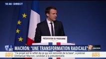 """Macron: """"Nous voulons des dirigeants responsables et exemplaires"""""""