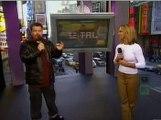 2000 - Britney hosting TRL on  MTV (Piercing)
