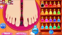 Princess Elsa Beauty Salon - Nail & Hair Salon And Back & Leg Spa Games For Girls