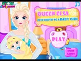 Queen Elsa Give Birth to a Baby Girl Newest new Baby Birth Games with Frozen Princess