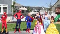 Харли Квинн Стать Замороженные Elsa!! Эльза в тюрьме против ховерборд КС ж/ супермен Эльза становится spiderelsa