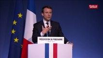 Emmanuel Macron : « Les partenaires sociaux font beaucoup plus de politique que de dialogue social »