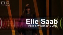 Elie Saab Fall Winter 2013 Paris Fashion Week @ ELS FASHION TV